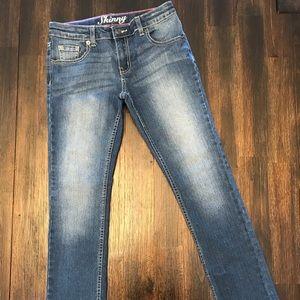 NWOT Crazy 8 Girls Skinny Jeans